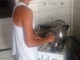 14/03/2015 - Daniela cozinhando