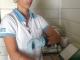 14/03/2015 - Daniela no cronômetro para imersão de lâminas
