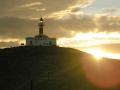 Pôr do Sol na Isla Magdalena, Chile.